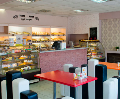 Кафе-пекарня Ням-Ням в Омске – доставка пирогов, пиццы, тортов