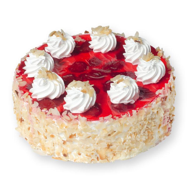 Торт «Йогуртовый — клубника» - заказ и доставка в Омске