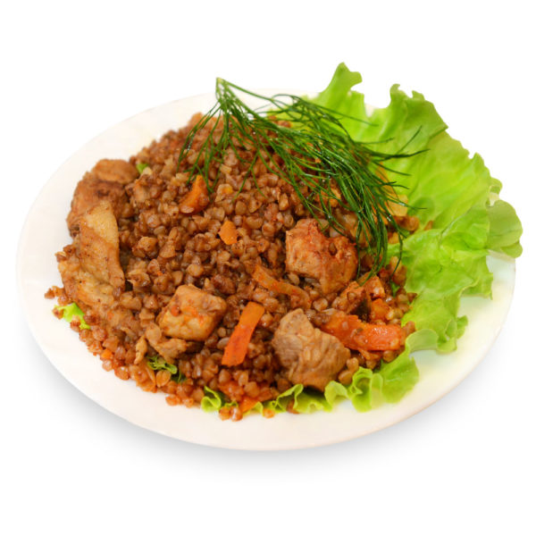 Гречка с мясом - заказ и доставка в Омске