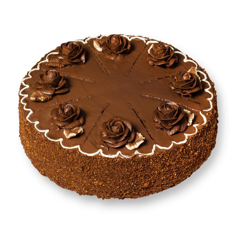 Торт «Шоколадный» - заказ и доставка в Омске