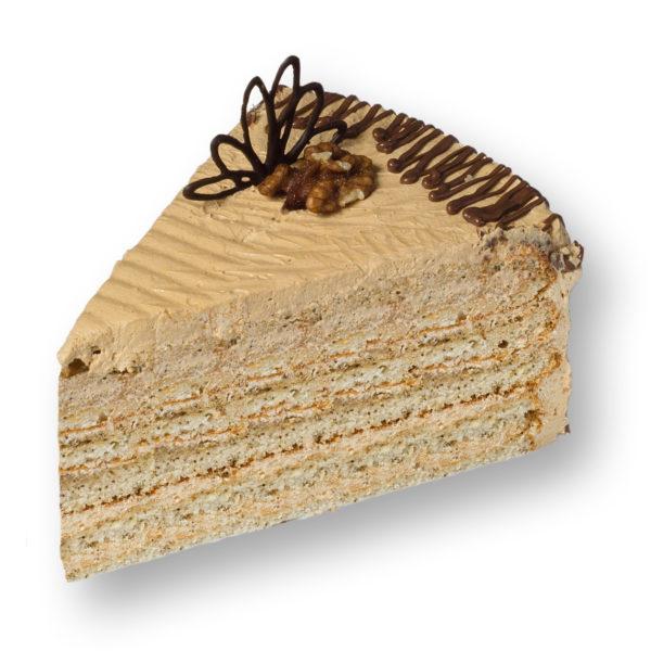 Торт «Кофейно-ореховый» - заказ и доставка в Омске