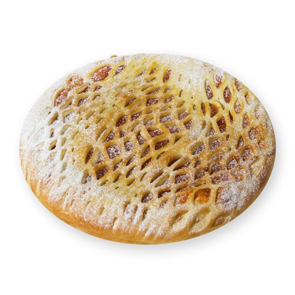 Пирог с курагой и грецким орехом - заказ и доставка в Омске