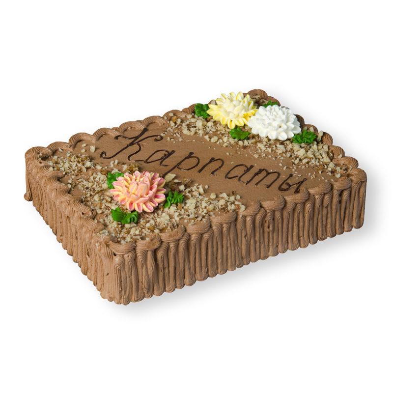 Торт «Карпаты» - заказ и доставка в Омске