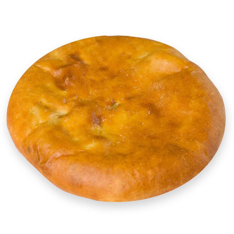 Пирог осетинский с красной рыбой - заказ и доставка в Омске.