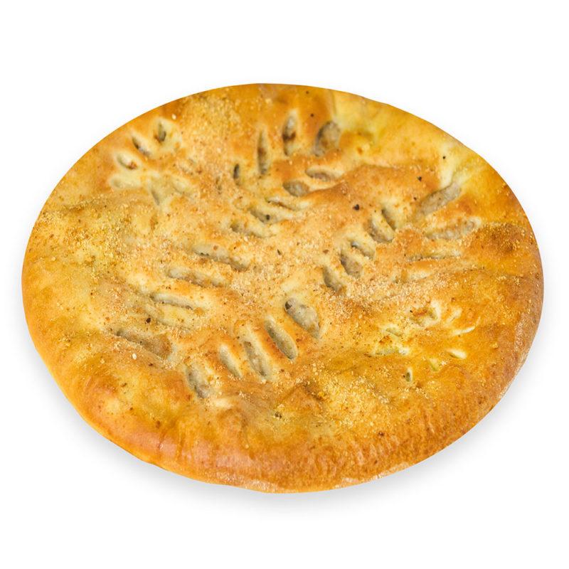 Пирог с грибами и сыром - заказ и доставка в Омске.