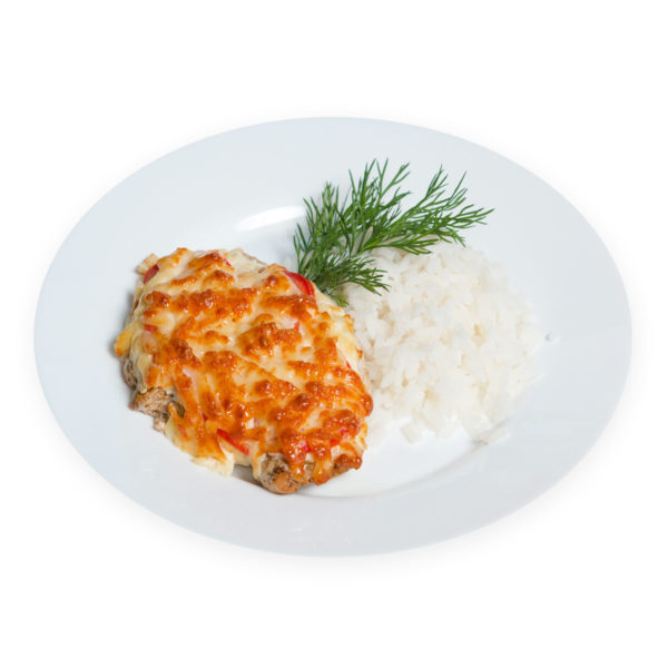 Рис с курицей - заказ и доставка в Омске