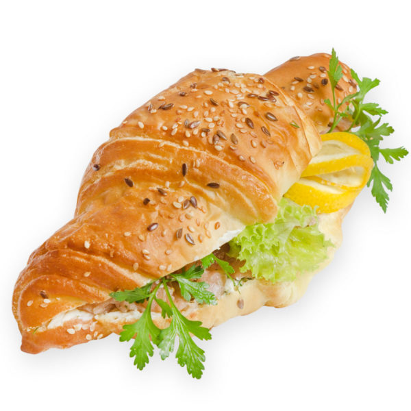 Круассан с красной рыбой - заказ и доставка в Омске