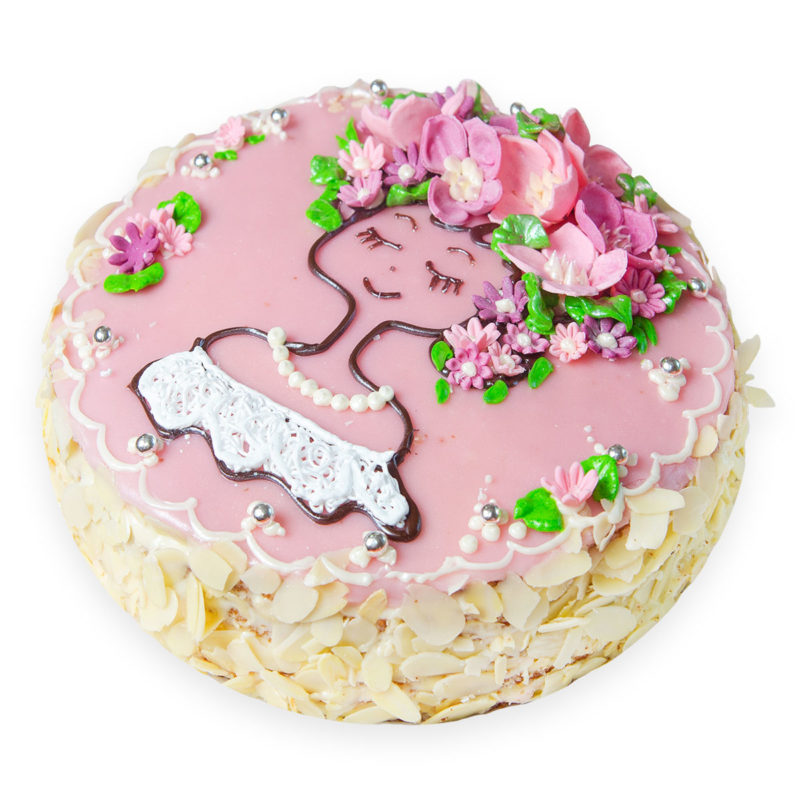 Торт «Молочная девочка» - заказ и доставка в Омске