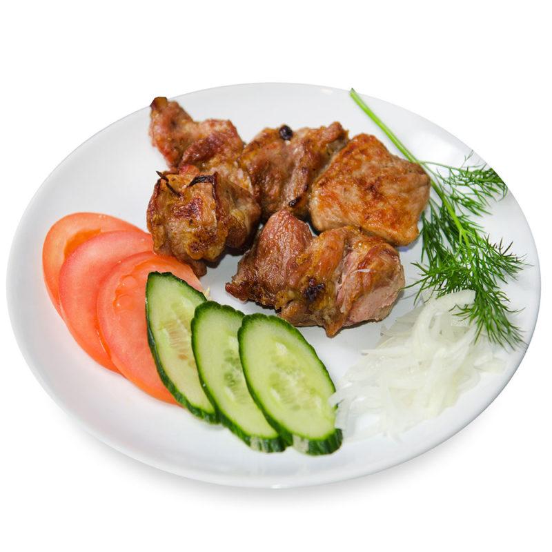 Свиной шашлык (шея) – Заказать с доставкой в Омске