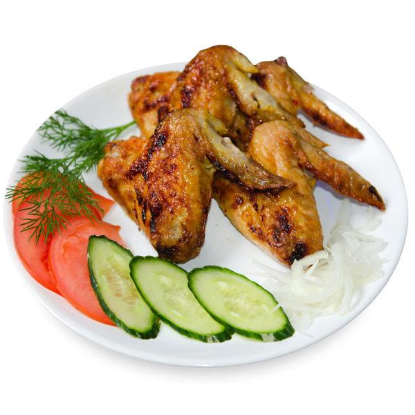 Куриные крылья на гриле – Заказать с доставкой в Омске
